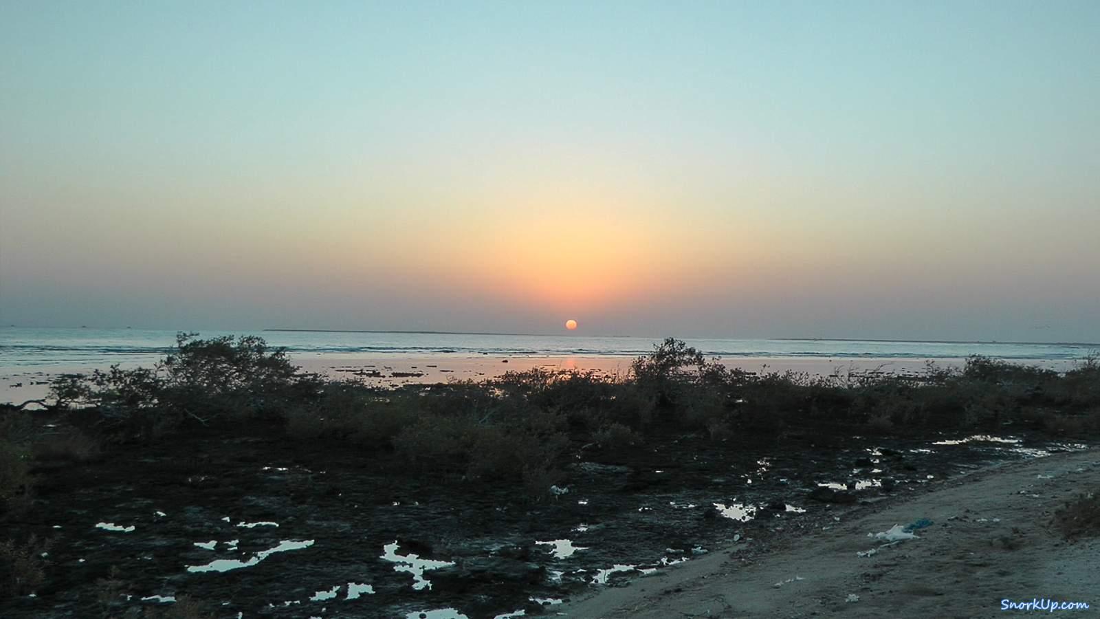 Восход над Wadi El Gimal